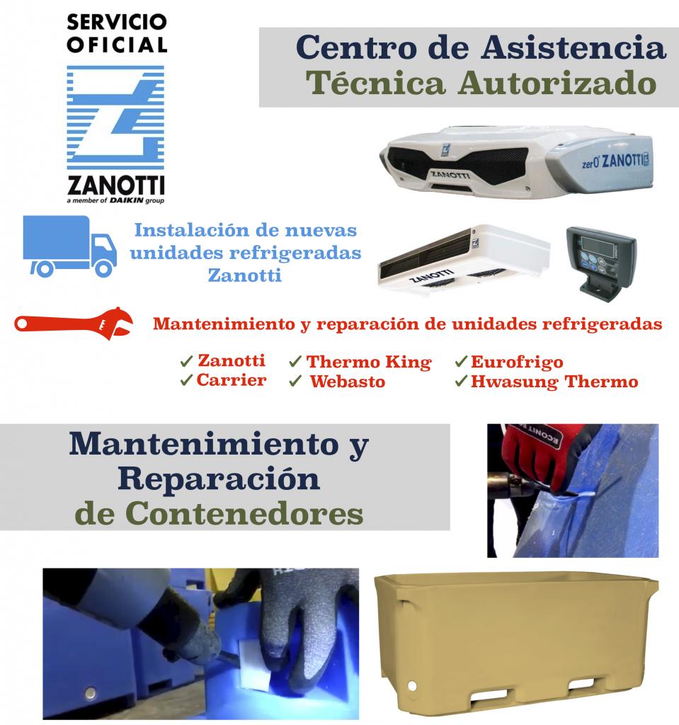 Centro de asistencia técnica en refrigeración